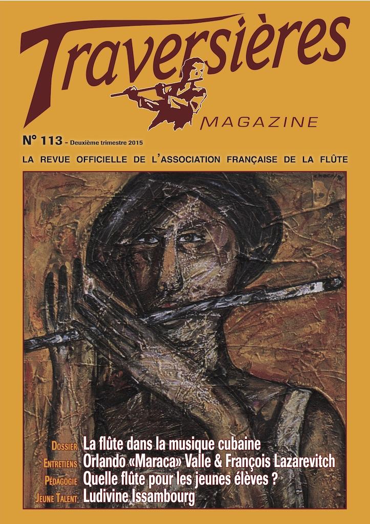 Couverture Traversières Magazine N°113
