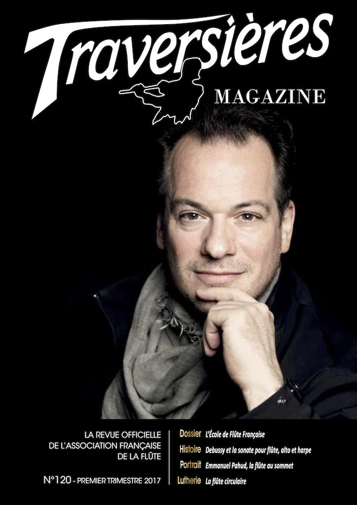 Couverture Traversières Magazine N°120