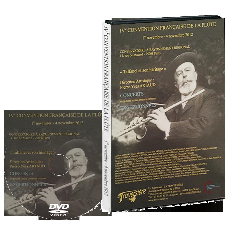 DVD Convention de la flûte 2012 - La Traversière