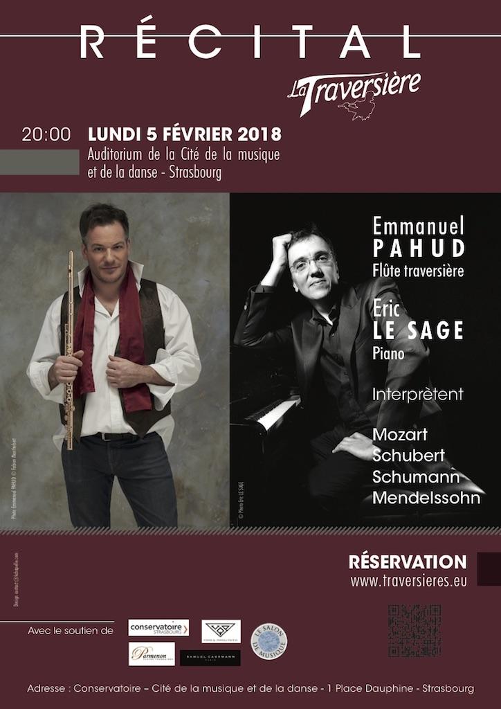 Récital Emmanuel PAHUD et Eric LE SAGE