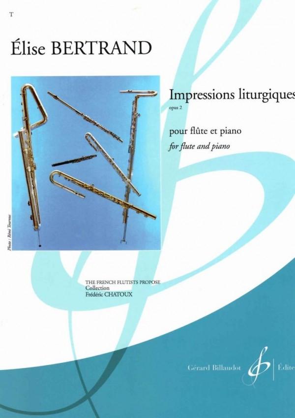 Impressions Liturgiques opus 2 Elise Bertrand