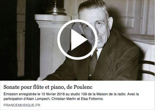 2018 - Poulenc France Musique