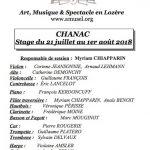 2018-Stage Chanac - Stage de flûte