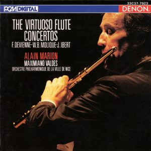 CD Alain Marion - The Virtuoso Flute Concertos