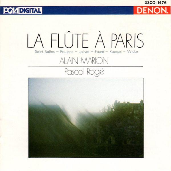 Alain Marion - La Flûte à Paris