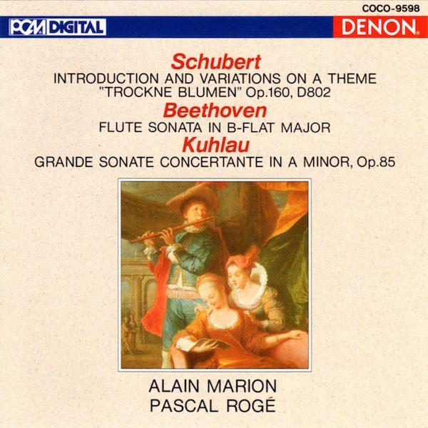 Alain Marion - Schubert / Beethoven / Kuhlau