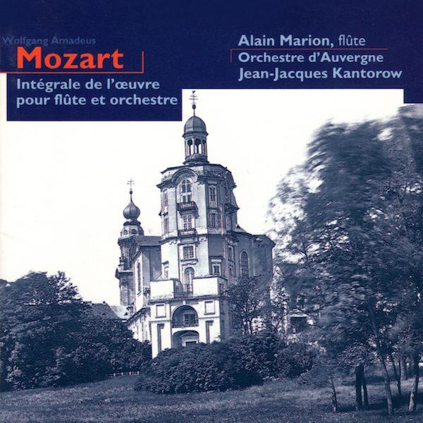 Alain Marion - Mozart - Intégrale de l'Oeuvre pour flûte et orchestre