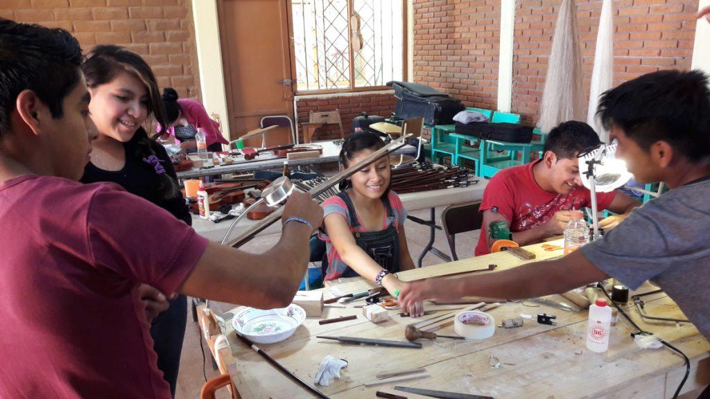 Atelier de réparation des instruments