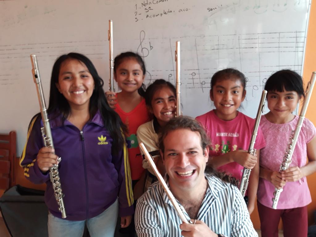 La Banda de Musica - Flute class with Zacharias Tarpagkos