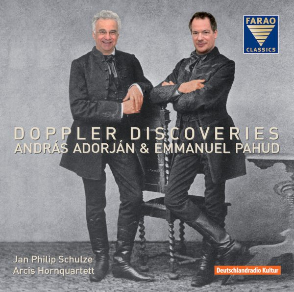 CD Doppler Discoveries - András Adorján & Emmanuel Pahud