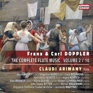 CD Franz & Carl Doppler - THE COMPLETE FLUTE MUSIC vol. 2
