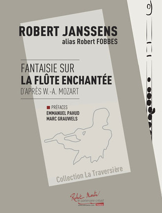 Fantaisie sur La Flûte Enchantée - Partition - Collection La Traversiere