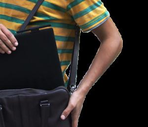 Le PadMu2 vous permet de transporter facilement toutes vos partitions