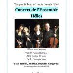 Concert de l'ensemble Helios