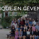 MUSIQUE EN CÉVENNES 2019