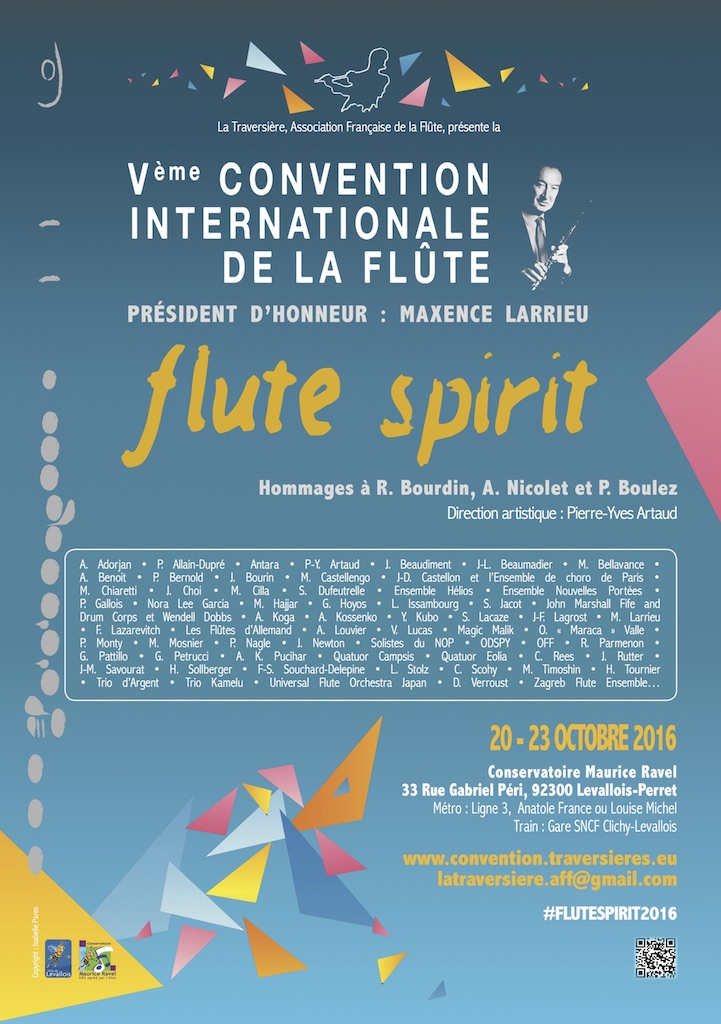 Vème Convention Internationale de la flûte