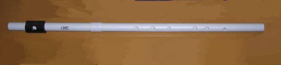 flûte irl en ré en pvc