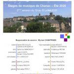 Stage de Flûte à Chanac en Lozère