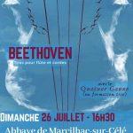 Beethoven - Concert flûte et cordes - Festival Marcilhac des Artistes 2020