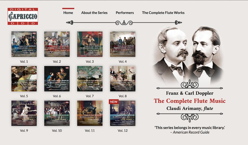 Complete Flute Music-Carl & Franz Doppler